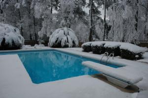 snow pool